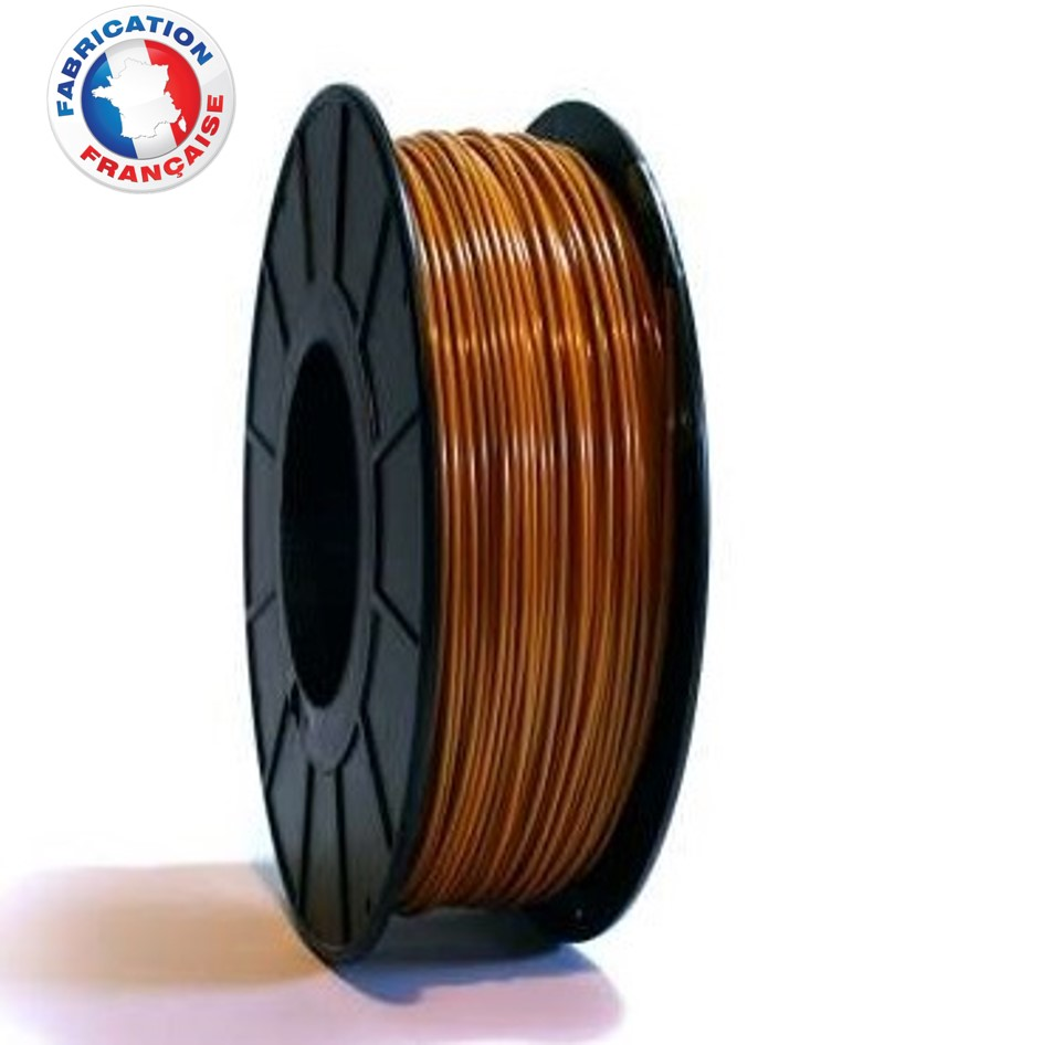 Fil PLA Marron clair 1.75mm 1Kg