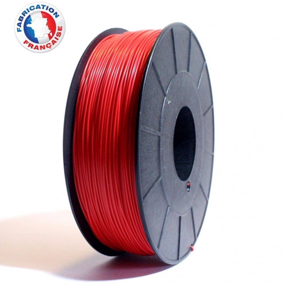 Fil ABS Rouge 1.75mm 1Kg